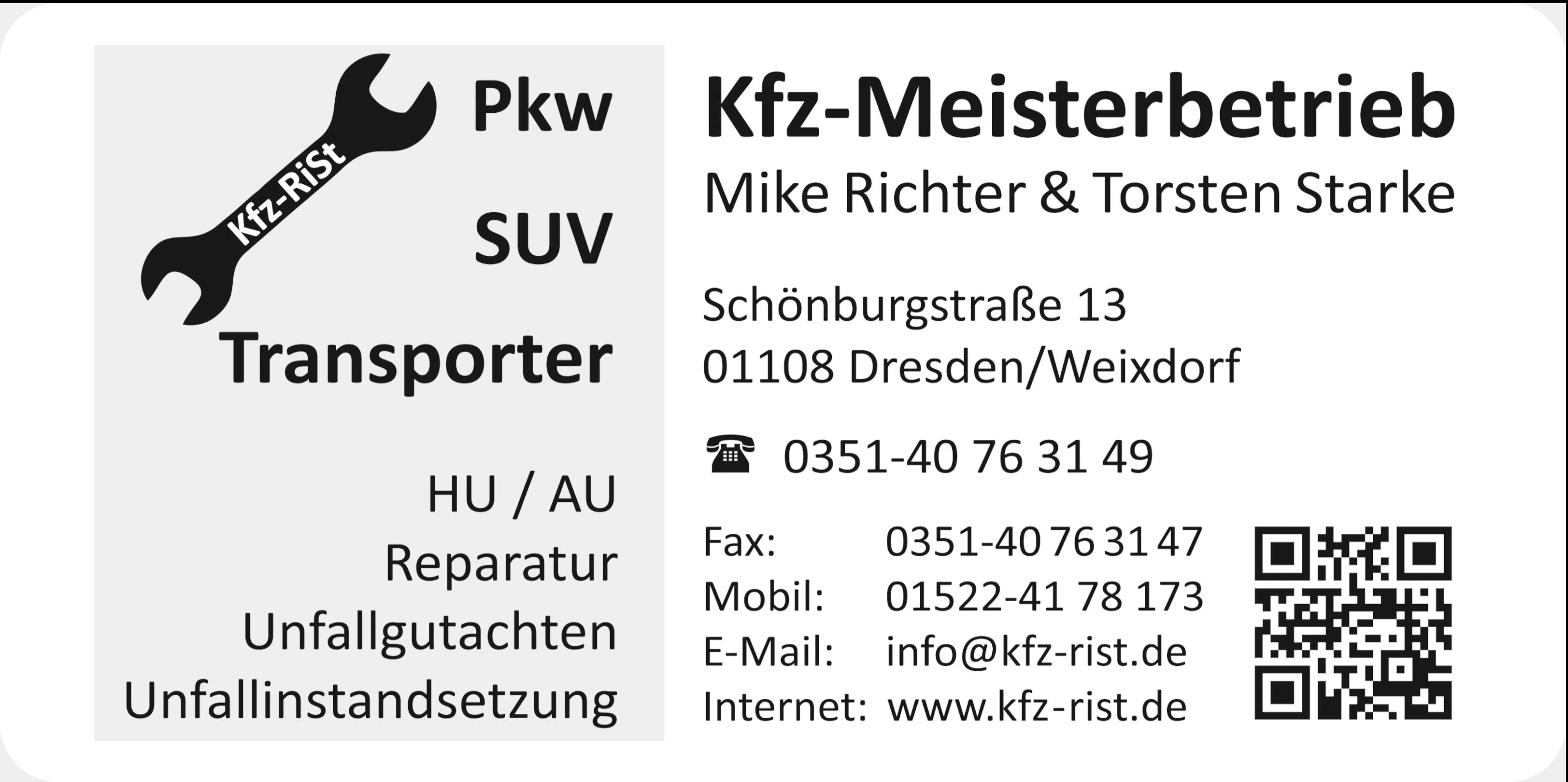 KFZ RiSt Weixdorf / DD